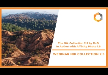 Discover the Nik Collection 2.5 by DxO In Action with Affinity Photo 1.8