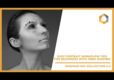 Easy Portrait Workflow Tips for Beginners with Abba Shapiro