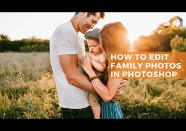 One-Click Solution for Editing Family Event Photos Using Photoshop with Nik Collection 3 by DxO's Selective Tool
