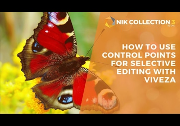 How To Use Control Points For Selective Editing with Viveza