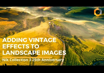 Adding Vintage Effects To Landscape Images With Analog Efex by DxO