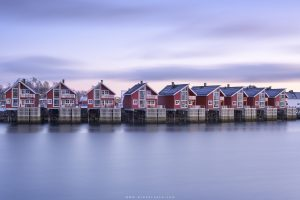 Red Houses In Lofoten Islands, Nik collection 4