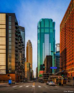Cityscape, Minneapolis, Nik Collection 4